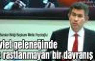 """Feyzioğlu: """"Devlet geleneğinde hiç rastlanmayan..."""