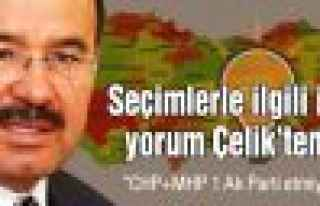 """Hüseyin Çelik: """"CHP+MHP bir Ak Parti etmiyor"""""""