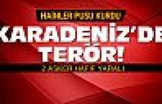 Karadeniz'de terör