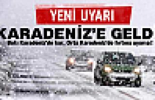 Karadeniz'e kuvvetli kar ve fırtına uyarısı!