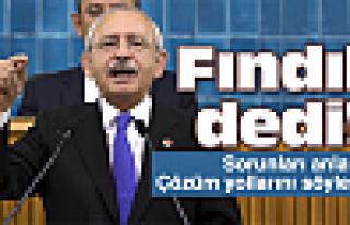 Kılıçdaroğlu'nun gündeminde fındık var!