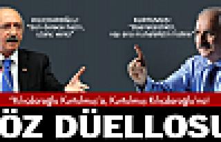 Kurtulmuş-Kılıçdaroğlu düellosu!