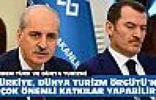 Kurtulmuş'un gündemi Türk turizmi