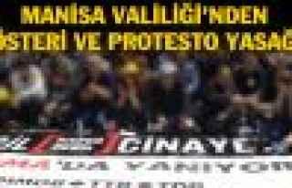 Manisa Soma'da protesto ve yürüyüşlere yasak geldi!