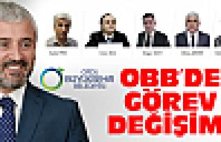 OBB'de görev değişimi