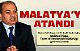 Sadi Sadıkoğlu Malatya'ya atandı
