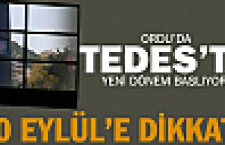 TEDES'te yeni dönem başlıyor!