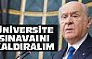 MHP'den üniversite sınavını kaldıralım teklifi
