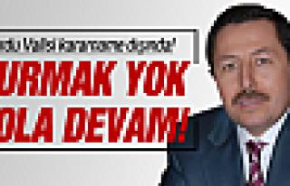 Vali Balkanlıoğlu ile yola devam!