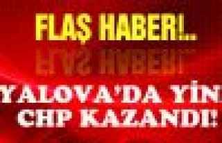 Yalova'da bir kez  daha CHP kazandı!