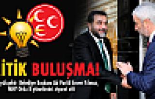 Yılmaz'dan MHP'yi kritik ziyaret