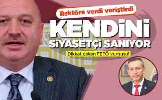 Gündoğdu'dan zehir zemberek 'rektör' açıklaması