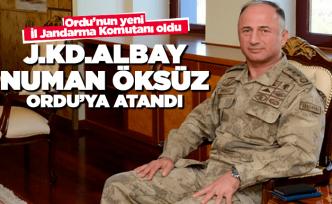 Ordu İl Jandarma Komutanlığı'nda değişim