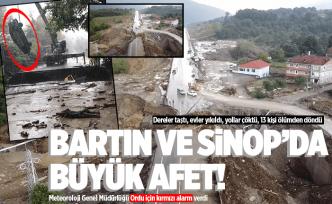 Ordu'ya uyarı! Bartın ve Sinop'ta büyük afet!