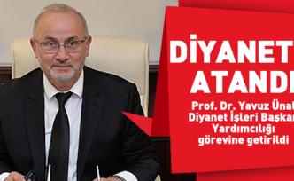 Diyanet'e Ordulu Başkan yardımcısı