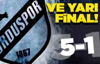 Orduspor 1967 artık yarı finalde!