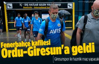Fenerbahçe kafilesi Ordu-Giresun'a geldi