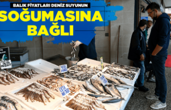 Balıkçılar deniz suyunun soğumasını bekliyor