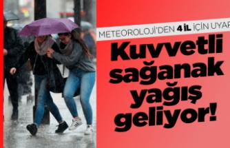 Karadeniz'deki 4 il için kuvvetli sağanak uyarısı