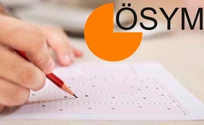 Sınav tercihleri 5 Ağustos'ta başlayacak