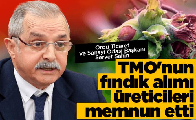 Başkan Şahin'den 'TMO' açıklaması