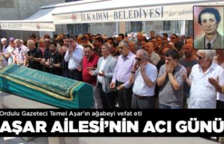 Gazeteci Temel Aşar'ın acı günü