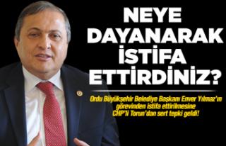 CHP'li Torun'dan büyük tepki!