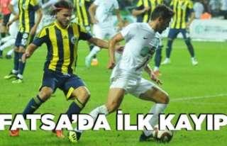 Fatsa Belediyespor'da ilk hafta ilk kayıp!