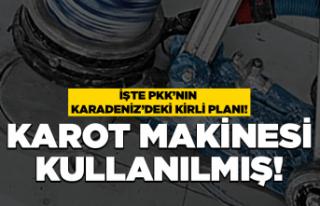 PKK'nın Karadeniz'deki hain planı!