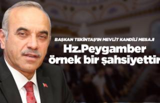 Başkan Tekintaş'ın Mevlit Kandili mesajı