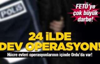 25 ilde dev FETÖ operasyonu!