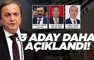 CHP Ordu'da 3 aday daha açıkladı