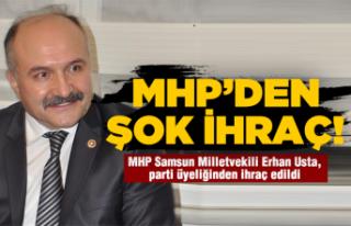 Erhan Usta hakkında MHP'den şok karar!