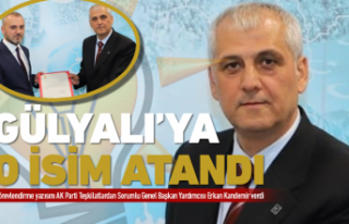 AK Parti'de Gülyalı'ya o isim atandı!