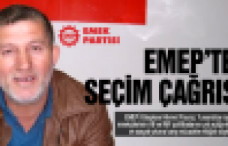 EMEP'ten seçim çağrısı