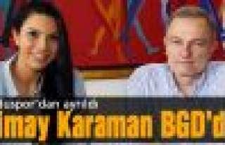 Simay Karaman BGD'de