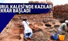 Kurul Kalesi'nde kazılar yeniden başladı