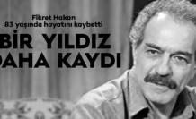 Türk sinemasından bir yıldız daha kaydı