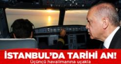 İstanbul'da tarihi an!