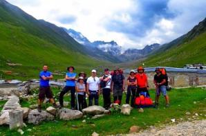 Ordu Doğa Sporları Derneği üyeleri Kaçkar'ın zirvesinde!