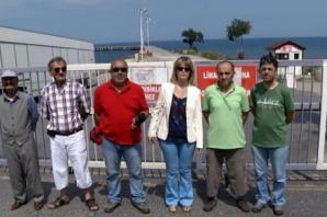 Amatör olta balıkçıları Ordu İskelesi'ni istiyor!