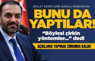 DDK Başkanı Arıncı'yı üzen davranış!
