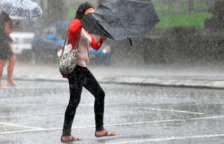 Dikkat etkili sağanak yağış geliyor!