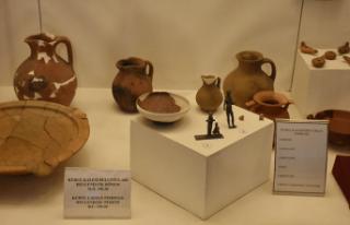 2100 yıllık eserler müzede sergilenecek