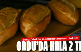 Ekmek zammı mahkeme kararına takıldı