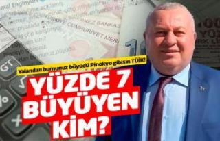 Cemal Enginyurt'tan TÜİK'e 'Pinokyo'lu...