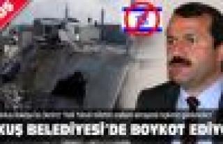 Akkuş Belediyesi de İsrail'i boykot kararı aldı!