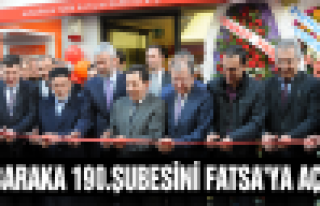 Albaraka, 190.Şubesi'ni Fatsa'ya açtı!