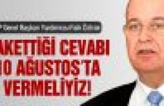 "CHP'li Öztrak: ""Hakettiği cevabı 10 Ağustos'ta..."