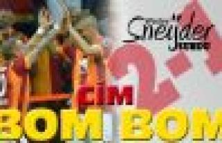 Derbide Sneijder'la Cimbom 2-1 kazandı!